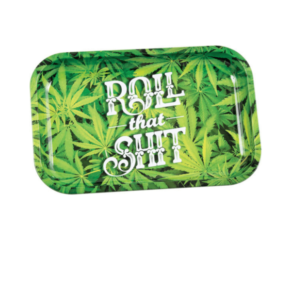 Roll That Shit Metal Rolling Tray