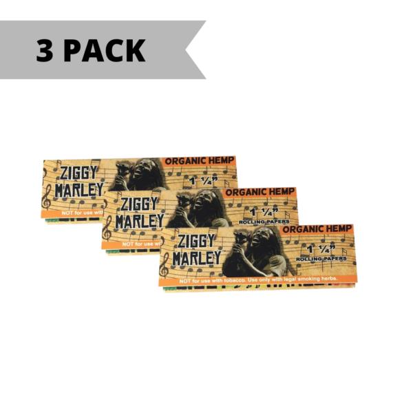 Ziggy Marley Organic Hemp Rolling Papers – 1 ¼ Size
