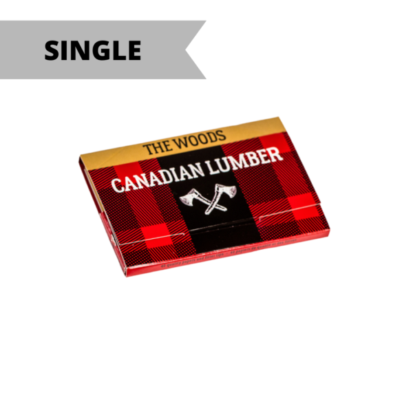 Canadian Lumber 1 ¼ Rolling Paper w/Tips – The Woods