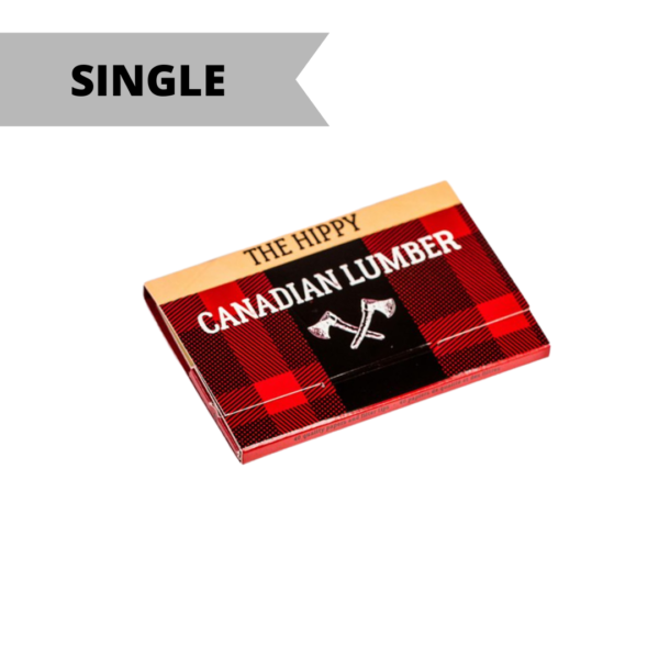 Canadian Lumber 1 ¼ Rolling Paper w/Tips – The Hippy