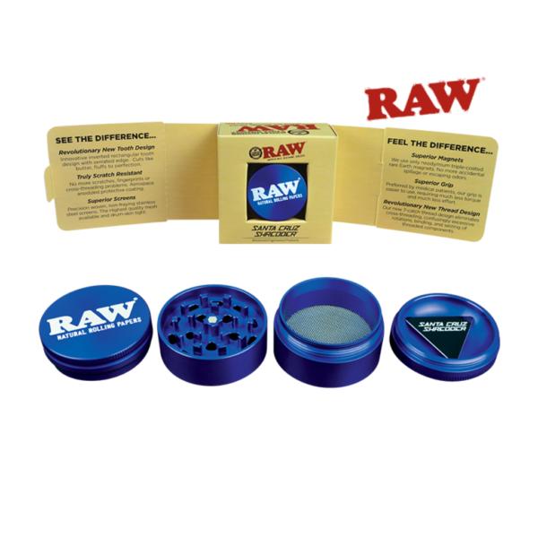 RAW X Santa Cruz Shredder Limited Edition Medium 4 Piece Grinder