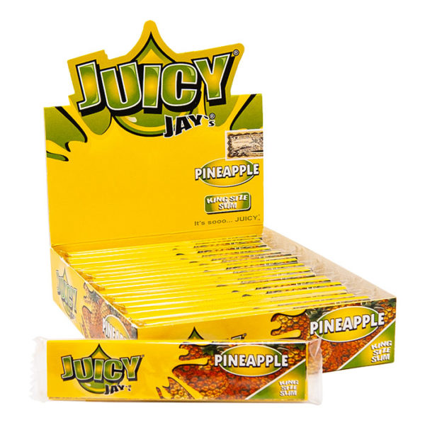 Juicy Jays King Size Slim Flavoured Rolling Papers