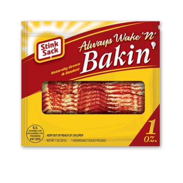 Stink Sack - Wake N Bakin Bags – 17.7cm x 19cm