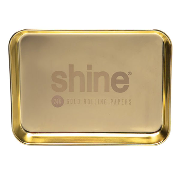 Shine Gold Rolling Tray