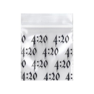 Original Apple Mini Ziplock Bags – 4:20 Bag (50mm x 50mm) x100