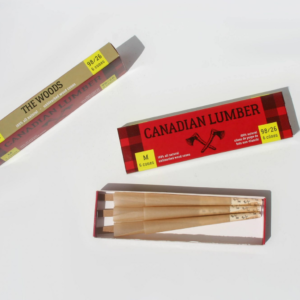 Canadian Lumber 1 ¼ Pre-Rolled Cones – The Woods – 6 Pack