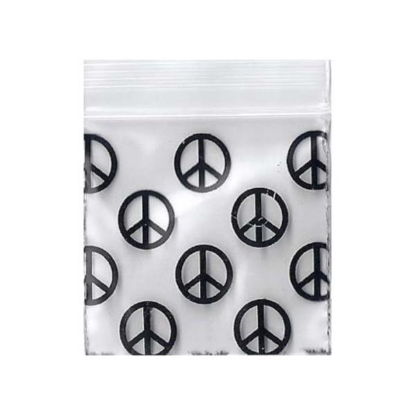Original Apple Mini Ziplock Bags – Peace Bag (32mm x 32mm) x100