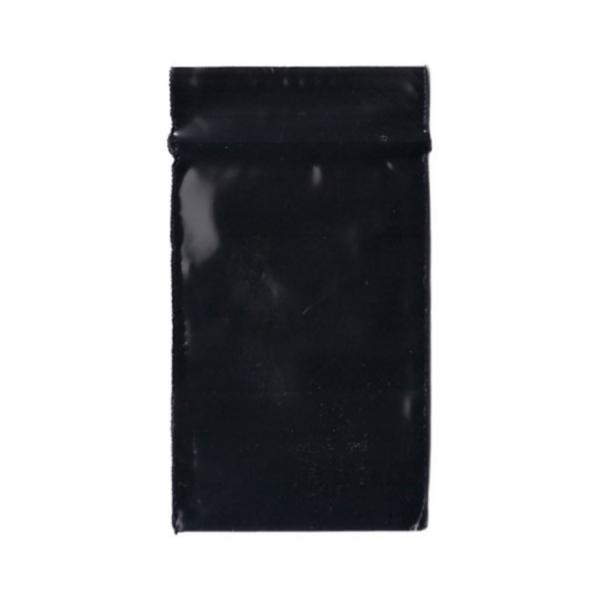 Original Apple Mini Ziplock Bags – Black Bag (32mm x 32mm) x100