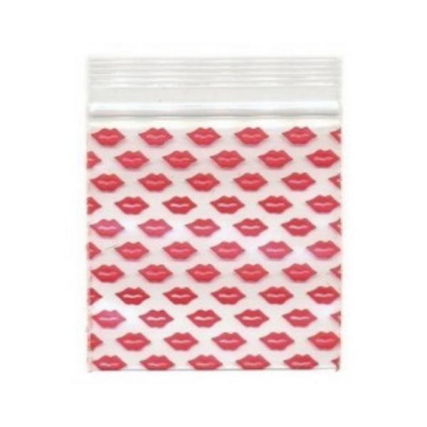 Original Apple Mini Ziplock Bags – Lips Bag (32mm x 32mm) x100