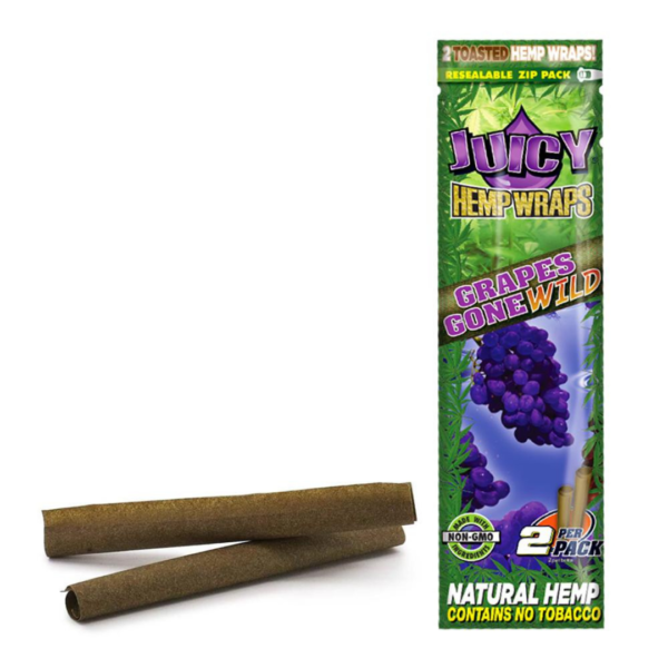 Juicy Jays Hemp Wraps – 2 Pack