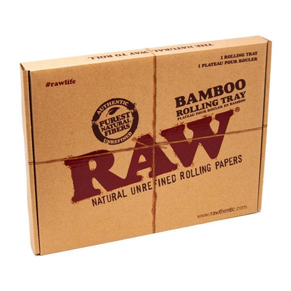 Raw Natural Bamboo Tray