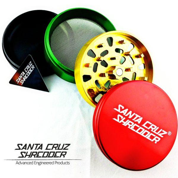 Santa Cruz Shredder – Large 4 Piece – Rasta