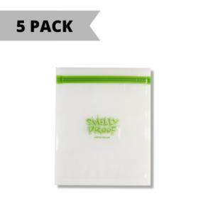Smelly Proof Bags - Medium – Clear - 16.5cm x 19cm