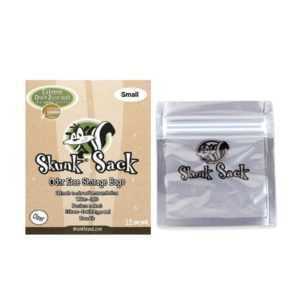 Skunk Sack Smell Proof Bag – Small - Clear – 12 Sacks