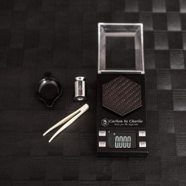 Carbon By Charlie Carbon Fibre Edition Pocket Scale (0.001)