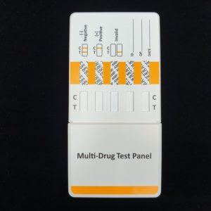 5 Drug Urine Dip Card