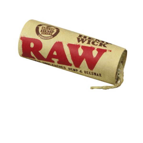 RAW Hemp Wick – 20ft/6m